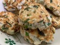 減肥低脂-水嫩雞肉蔬菜餅