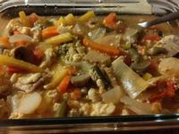 快速料理/湯/番茄蔬菜湯