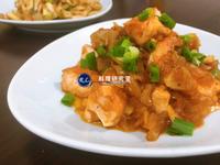 【家常菜】茄子骰子鮭魚(15分鐘上菜)