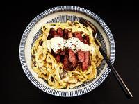 食煮#10 奶油牛排義大利麵