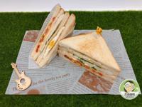 嫩煎鱈寶三明治