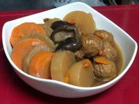 香菇滷菜頭-鮮甜美味