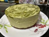 生酮- 可可味餅底+抹茶慕絲蛋糕