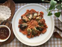 韓式海鮮煎餅 蚵仔煎(해물파전)