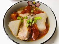 飛利浦萬用鍋-番茄蘿蔔排骨湯