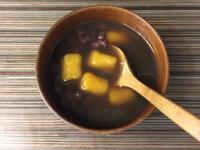 手作地瓜圓與溫暖紅豆湯
