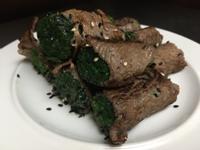 牛肉菠菜捲