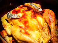 中式糯米飯釀春雞(鑄鐵鍋)