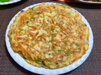 紅蘿蔔鴻禧菇煎蛋