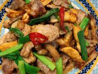 家常菜~味噌豬炒豆干