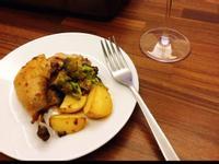 奶油香草咖喱烤全雞 雞胸肉不柴 烤馬鈴薯