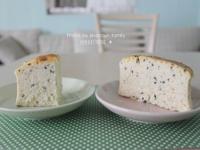 【肉桂打噴嚏】椰奶芝麻舒芙蕾乳酪蛋糕