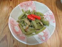煮葉牛蒡(ha-gobou)
