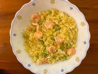 黃金蝦仁蛋炒飯