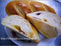 芝司樂煙燻起司培根麵包DIY