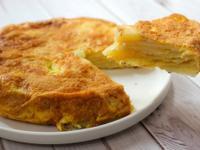 【平底鍋料理】西班牙馬鈴薯蛋餅