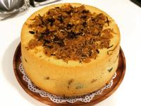 蔥花肉鬆戚風蛋糕【烤箱、氣炸料理】