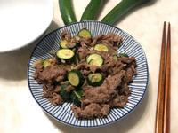 香炒櫛瓜牛肉