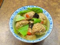 芥菜猴頭菇藥膳湯