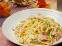 #67 白醬培根義大利麵