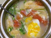 番茄白菜蛋花湯