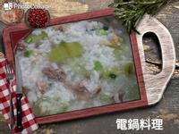 蝦米瘦肉絲瓜粥