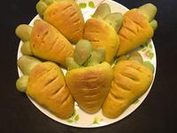 紅蘿蔔菠菜餐包