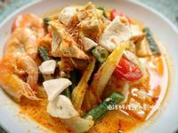 南洋料理達人劉明芳--鮮蝦蔬菜咖哩