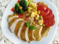 和風醬咖哩雞胸排〞低醣低脂新風味雞胸排