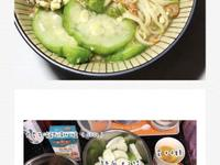 絲瓜蛤蠣麵