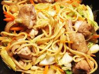 照燒雞肉炒麵🍗 照り焼きチキン焼きそば