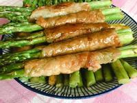 日式青梅照燒蘆筍肉捲