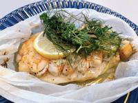 瑞典美食主題-檸檬茴香紙包烤海鮮