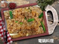韓式泡菜豬肉拌飯