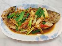 紅燒豆醬黃魚