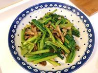 舞菇炒小松菜
