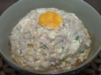 鹹蛋豆腐蒸肉餅