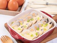 蛤蜊蒸蛋【蒸魚醬油】
