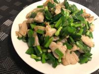 [減醣]海量韭菜炒雞胸