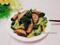 簡易家常菜~花椰菜炒香菇