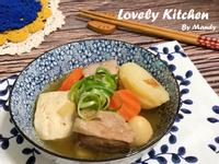 日式味噌馬鈴薯燉豚肉湯