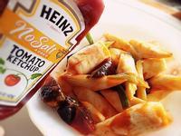 《香辣皮蛋筊白筍》---亨氏無鹽低鈉番茄醬‧100%純天然
