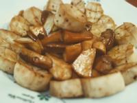 炒杏鮑菇(二吃)