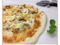[Witi✿Kitchen](麵包機-比薩PIZZA)玉米鮪魚比薩