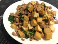 [減醣]塔香豆乾炒肉末