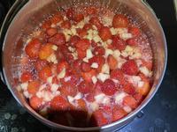 自製草莓果醬(蘋果風味)也可以去掉蘋果