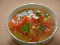 濃厚番茄蛋花湯