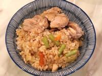 台灣古早味~高麗菜豆飯~電鍋料理
