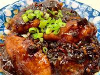 辣味豆豉蒸雞翅