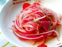 涼拌紫洋蔥 五分鐘上菜